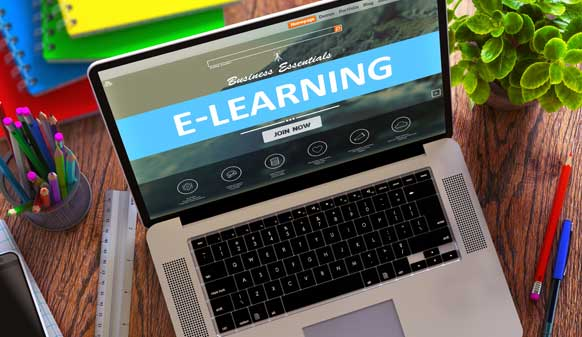 Le e-learning ou formation en ligne 582x337