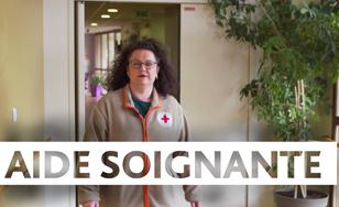 Angélique, aide-soignante à la Croix-Rouge, nous présente son métier