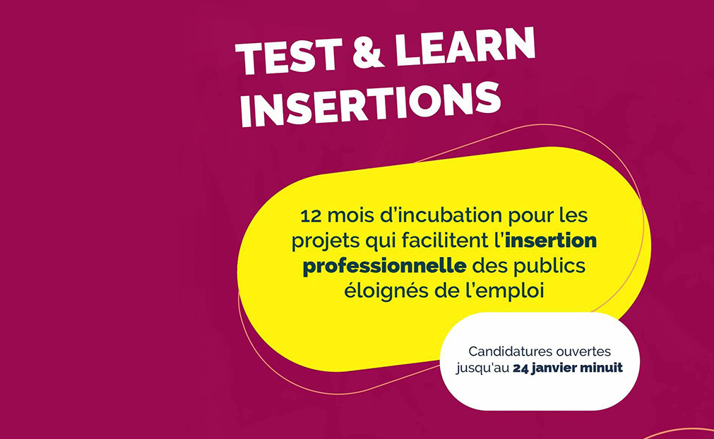 Pôle emploi Ile-de-France partenaire du programme d'incubation Test and Learn de Makesense