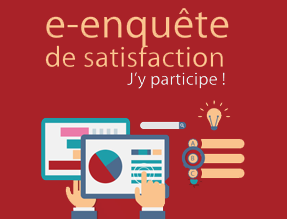 Illustration e-enquête de satisfaction