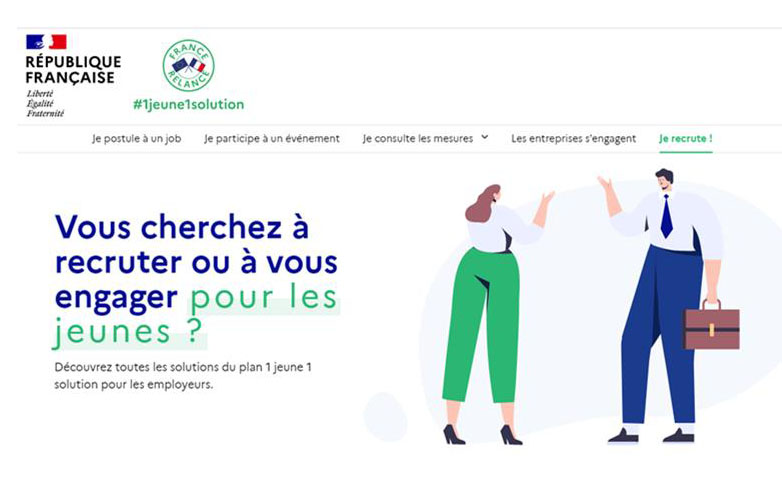 Plateforme nationale #1Jeune1Solution
