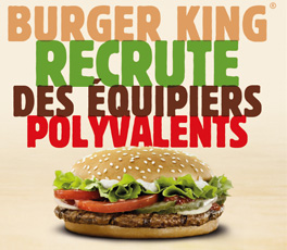 Recrutement Burger King