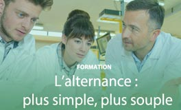 L'alternance : plus simple, plus souple