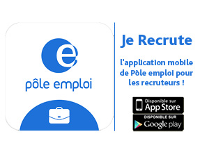 application mobile je recrute